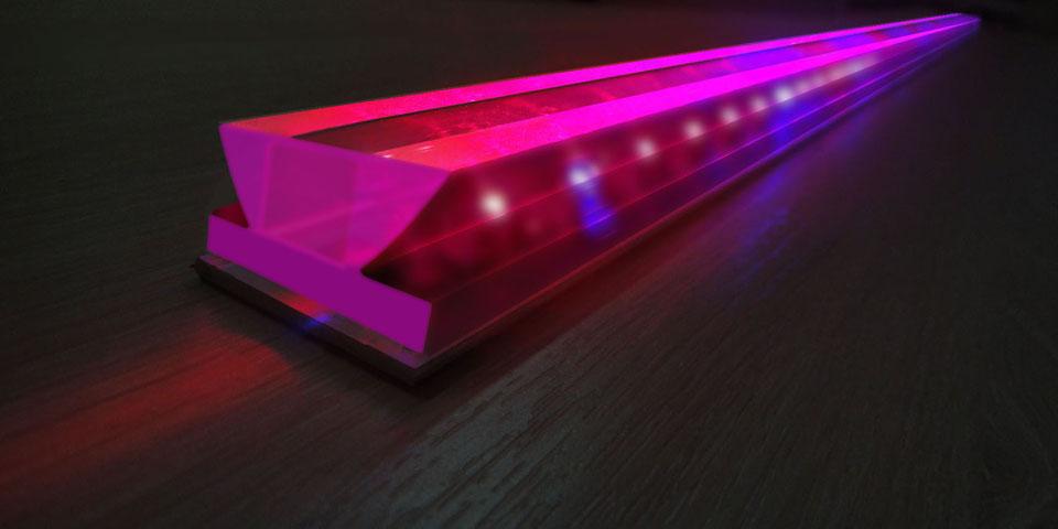 Светодиодный модуль «Рубин» для досветки растений